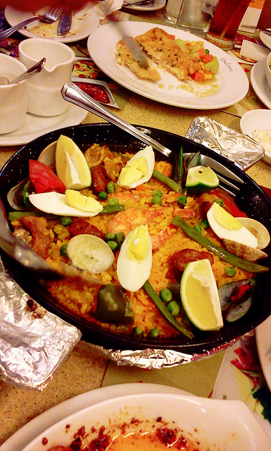 Text Book Paella Valenciana